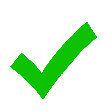 Picture of a green check mark